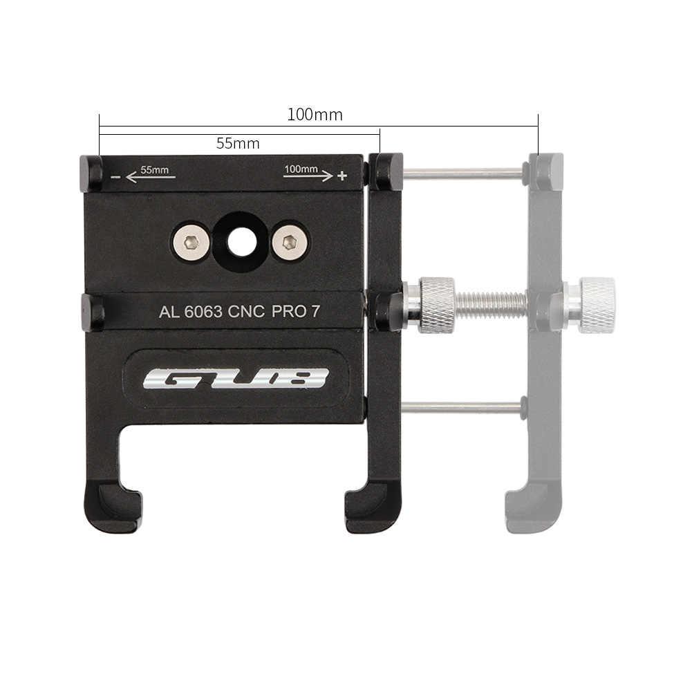 GUB PRO7 мобильный телефон держатель для руля велосипеда из алюминиевого сплава для Iphone Кронштейн двигателя держатель для телефона на велосипед аксессуары черный