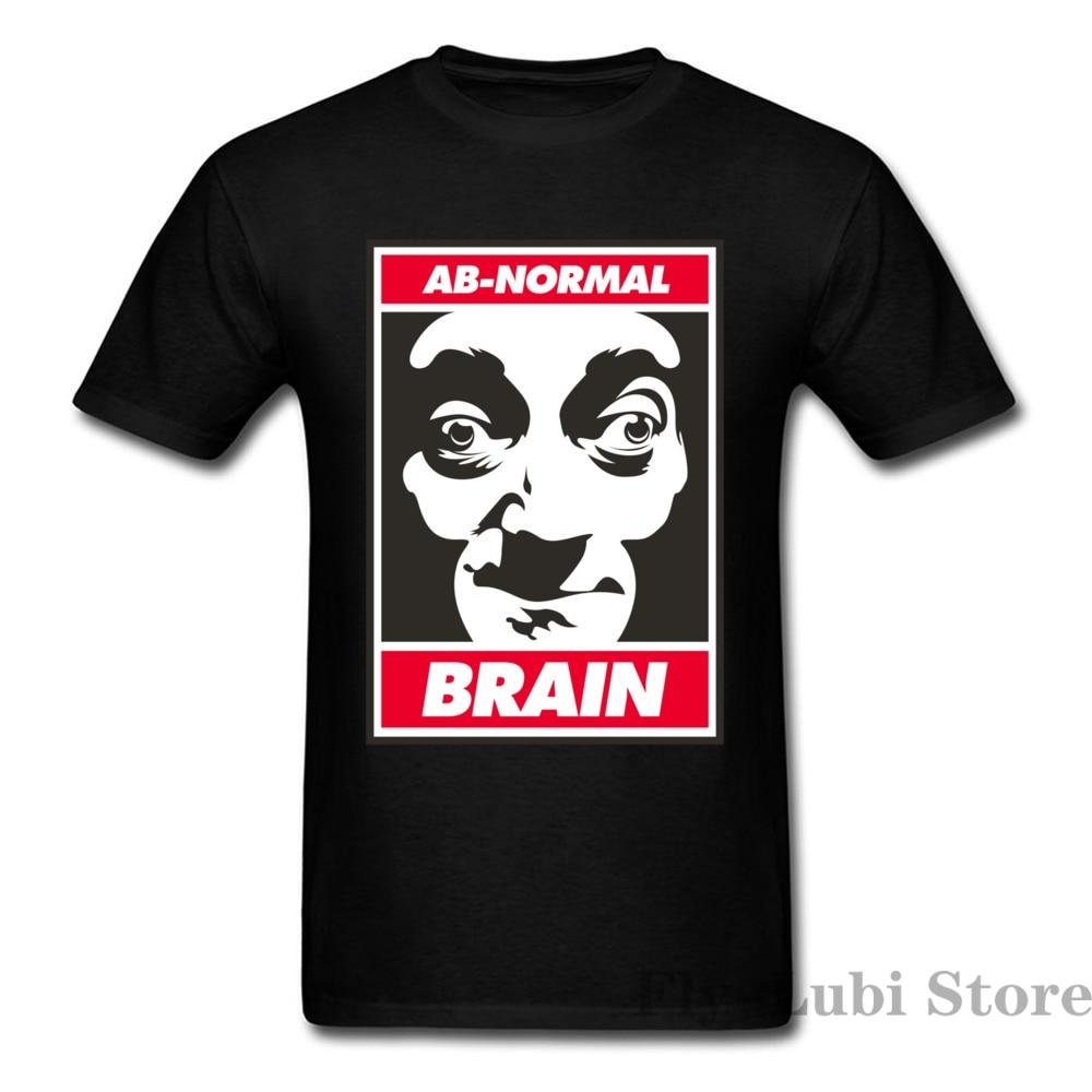 Custom Ab-Normal Brain Logo Design Tops Make Your Own Dress Mens T Shirt Plain O Neck Oversized T Shirt Mr Bean T-Shirt