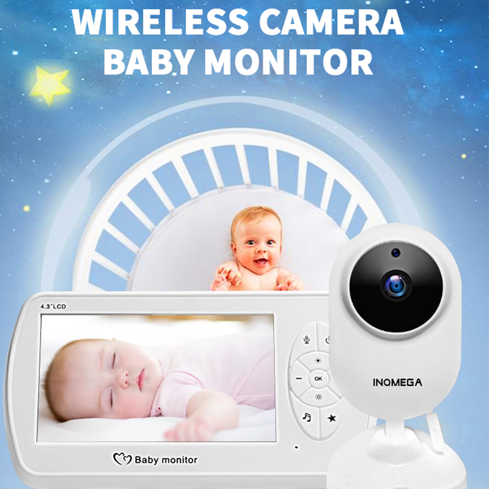 4.3 inch Screen Wireless Video Nanny Baby Monitor With 1080P Camera Security 2MP Babyfoon Temperature Monitor Night Vision|Baby Monitors| - AliExpress