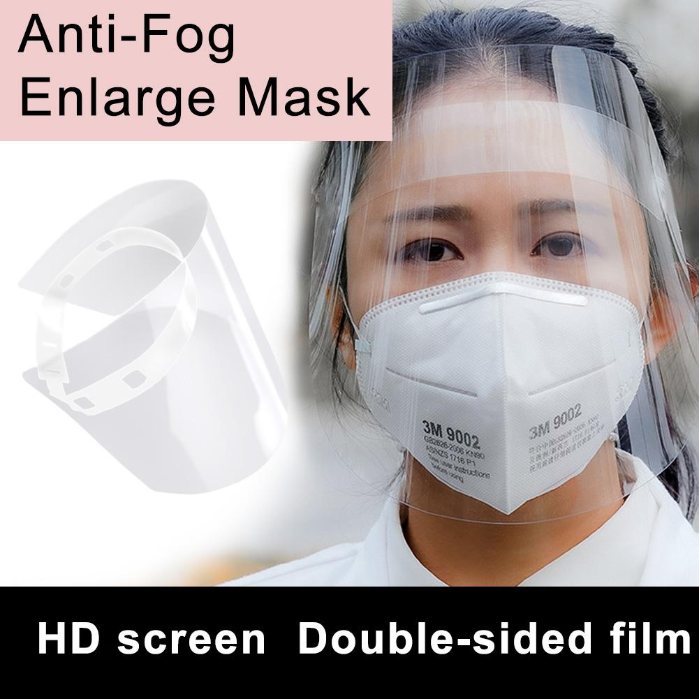 Transparent Dust-proof Anti Droplet Oil Full Face Protection Mask Visor Shield Anti-Fog Mask Covers