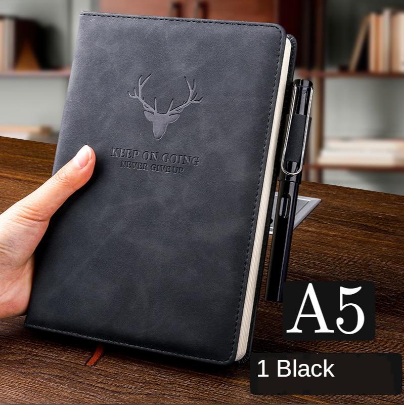 360 страниц супер толстый A5 дневник ежедневный бизнес офисный Рабочий ноутбук простой толстый колледж офисный Дневник Школьные принадлежности 5