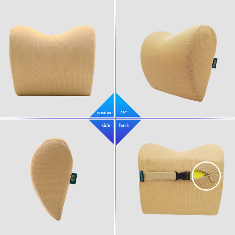 lowest price Car Seat Headrest Pillow Travel Rest Neck Cushion Support Head Seat Pillow Headrest Neck Travel Sleeping Cushion For Kids Adults