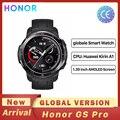 Смарт-часы Honor Watch GS Pro глобальная версия, экран 1,39 дюйма, мониторинг пульса, Bluetooth, 5 атм