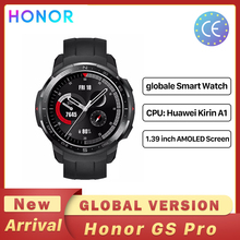 Honor Watch GS Pro Global Version Smart Watch 1.39'' ScreenSpO2 Heart Rate Monitoring Bluetooth Call 5ATM Sports Watch