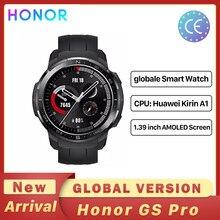 Honor – montre sport connectée GS Watch Pro, Version globale, écran 1.39 pouces, moniteur de fréquence cardiaque, appels Bluetooth, 5atm