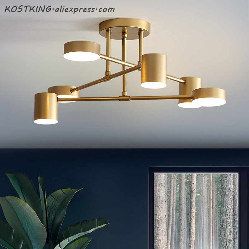 Modern LED Ceiling Light For Living Dining Room Bedroom Lustres Led Chandelier Ceiling Lamp lampara de techo Lighting Fixtures