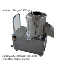 Small stainless steel200-1500kgs/h machine potato peeling sweet potato cassava  potato peeling machine olive peeling machine