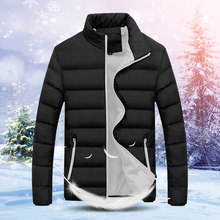 Winter Jacket Men Clothes Thick Warm Streetwear Down Cotton Coat Fashion Men's Winter Jacket Hiver Parka 5513(China)