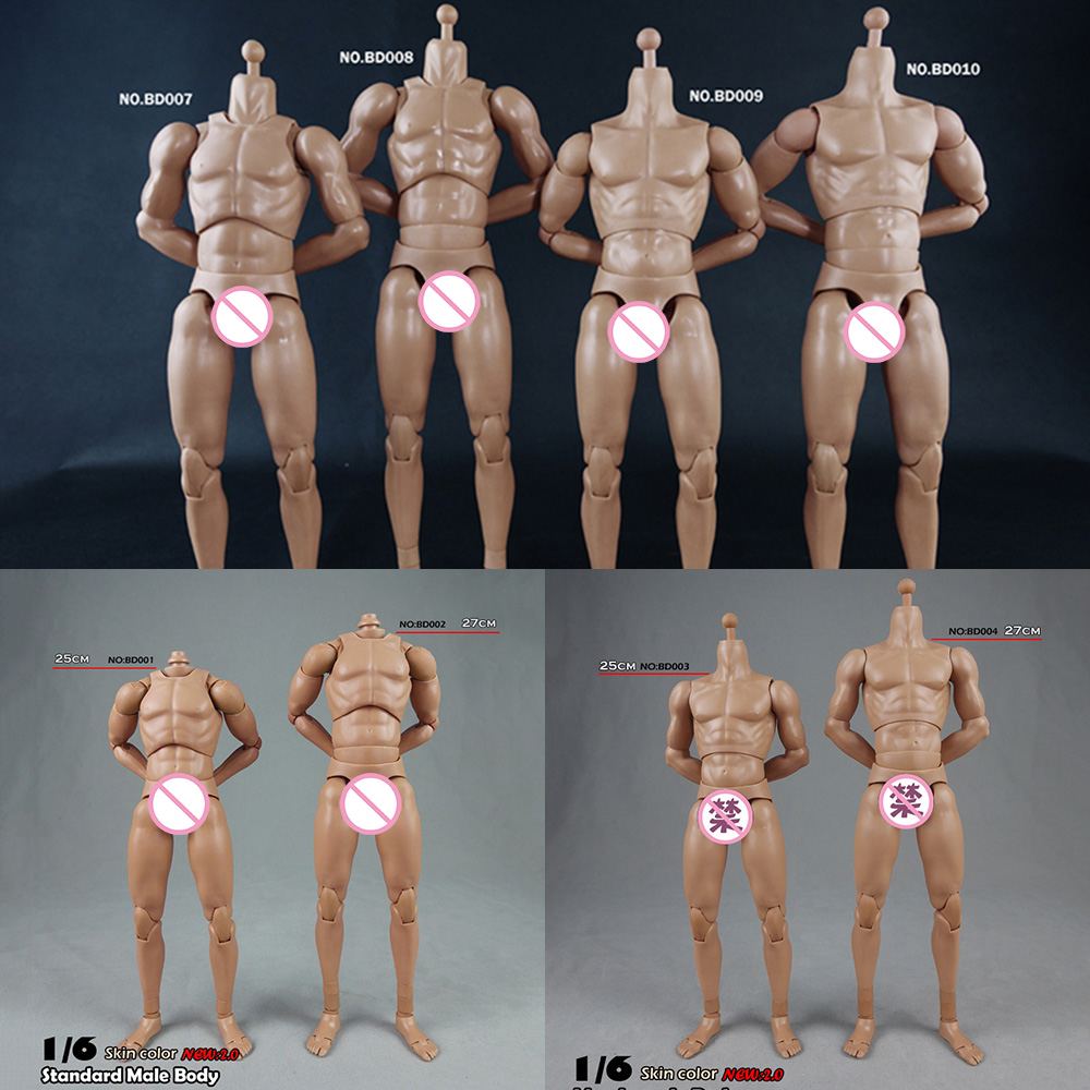 1//6 Scale COOMODEL Male Muscle Body Model BD010 Collectable Action Figure Toys