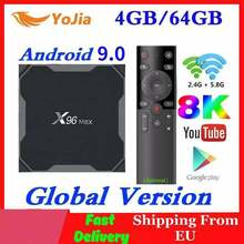 2020 Android 9,0 TV Box X96 Max Plus Amlogic S905x3 8K Smart Media Player 4GB RAM 64GB ROM X96Max Set top Box QuadCore 5G Wifi(China)