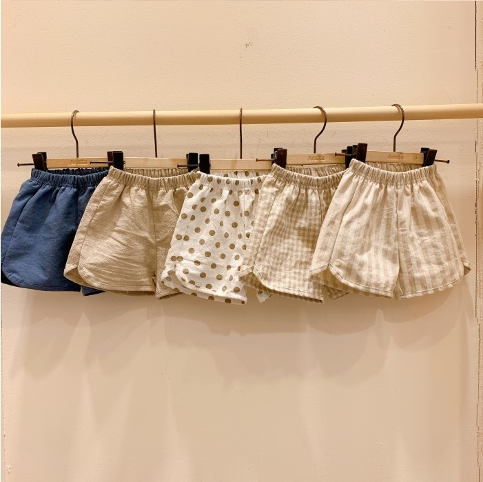 3588 Children's Cotton Shorts And Hat 2020 Summer New Boys' And Girls' Loose And Breathable Pants Baby Kids Short Pant