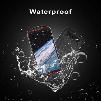 "Cubot KingKong MINI2 Rugged Phone 4"" QHD+ Screen Waterproof 4G LTE Dual-SIM Android 10 3GB+32GB 13MP Camera MINI Phone Face ID 3"