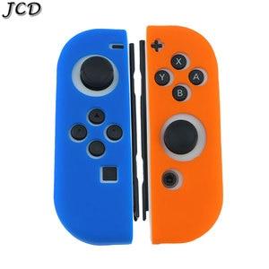 Image 5 - JCD 1 ensemble housse de coque peau en caoutchouc Silicone pour interrupteur Joy Con contrôleur pour Nintendo Switch NX NS poignée Joycon