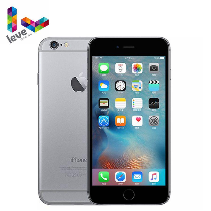 Фото. Используется Оригинальный разблокированный Apple iphone 6 Plus 5,5 дюйм 16 Гб/64 Гб/128 ГБ двух
