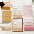 Yoofun 4 Designs14cs/pac винтажные билетные путешествия креативные наклейки лейбл пуля журнал альбом Srapbooking Craft Deco билеты