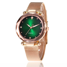 Fashion Casual Luxury Wrist Watches for Women Stylish Elegant Mesh Gold Buckle Ladies Female Wristwatch Clock relojes mujer