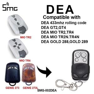 Image 1 - 1 חתיכה DEA GT2 GT4 DEA MIO TR2 TR4 433mhz שלט רחוק DEA שער מוסך דלת openner מוסך הפקודה מתגלגל קוד 433.92MHz