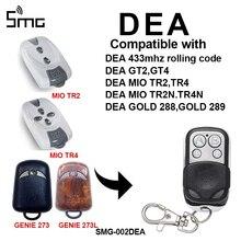 1piece DEA GT2 GT4 DEA MIO TR2 TR4 433mhz remote control DEA gate garage door openner garage command Rolling Code 433.92MHz