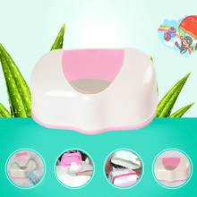 Home Car Automatic Press Pop-up Napkin Box Baby Wipes Wet Tissue Box Case Holder Organizer Kitchen Dinning Table Storage Boxes(China)
