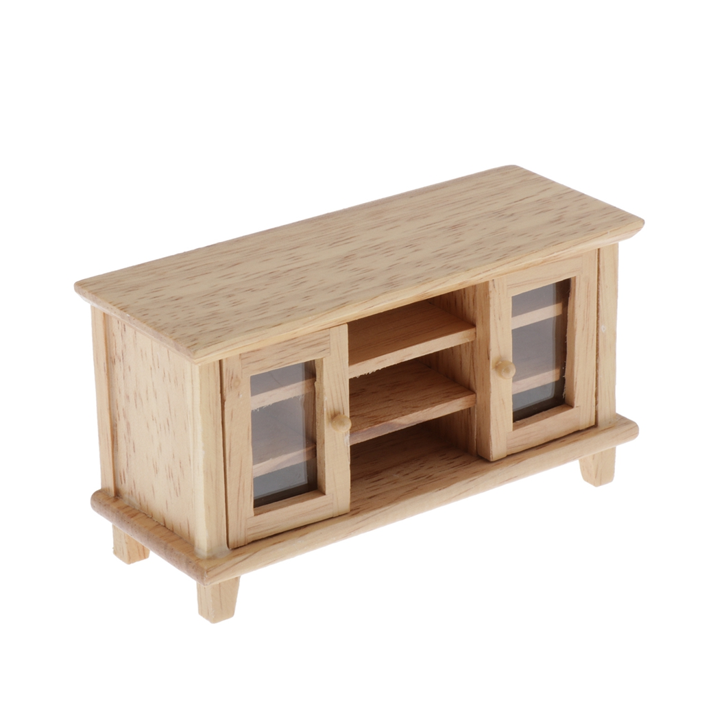1//12 dollhouse miniature accessory wooden box furniture model toy for kids to FR