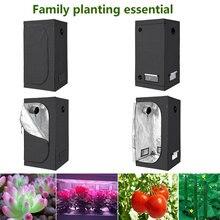 60x60x140cm oświetlenie Led do uprawy kryty namiot do uprawy hydroponicznej, pomieszczenie do uprawy roślin rosną, odblaskowe Mylar nietoksyczny ogród szklarnie