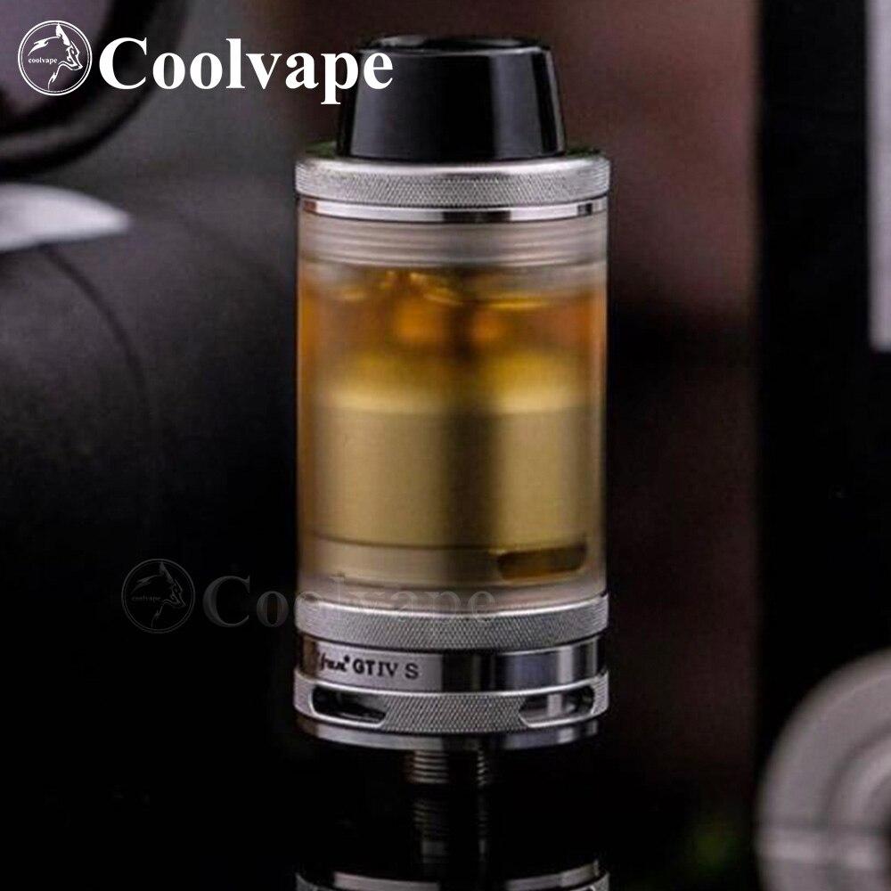 Coolvape Hot Taifun GT4 S Rta Taifun GTIV S RTA  Taifun Gt Mtl Dl Tank 3.5ml 23mm 316ss  Airflow Control Adjustable Vaporizer