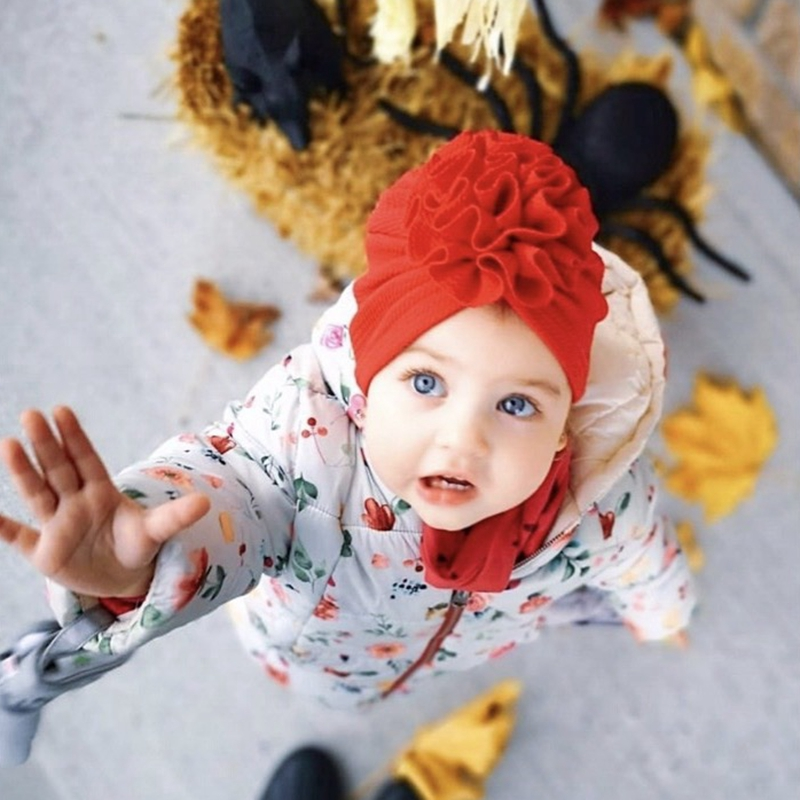 Knot Bow Baby Headbands Infant Headwraps Newborn Turban Hats Babes Caps