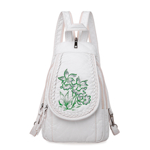 2019 Women Soft Leather Backpacks High Quality Sac A Dos Female Travel Shoulder Bag Ladies Bagpack School Bags For Girls New
