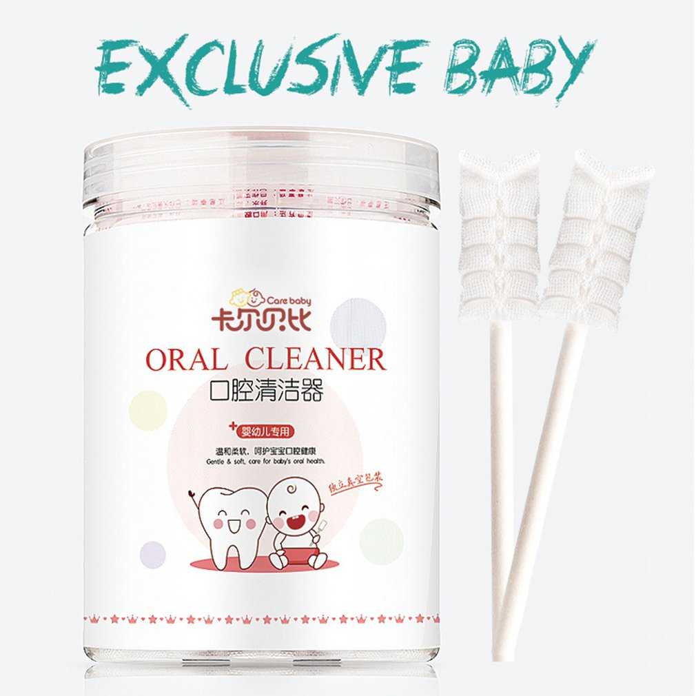 Baby Mouth Cleaner Baby Cleaning Supplies Newborn Tongue Washing Artifact Baby Tongue Toothbrush Gauze