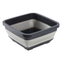 2021 Square Portable Fruit Tray Camping PP Travel Thickened Kitchen Retractable Bucket Non Slip Folding Washbasin Dish Tub Home