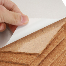 Self-Adhesive Cork Board Tiles Office Home Wood Photo Background Hexagon Stickers Wall Drawing Bulletin Boards 8/16/24 Pcs