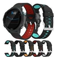 20mm silikon uhr band sport für Gamin vivoactive3 forerunner 245/645 uhr Samsung Amazfit adujustable uhr band armband