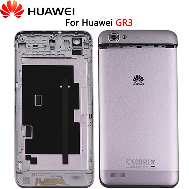 New GR3 Full Housing Case For Huawei GR3 TAG-L21 TAG-L23 Battery Cover Back Battery Door Rear Cover