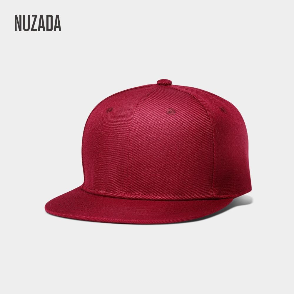 NUZADA Hip-Hop-Cap Couple Polyester Cotton Women Brand Spring Neutral Classic Autumn