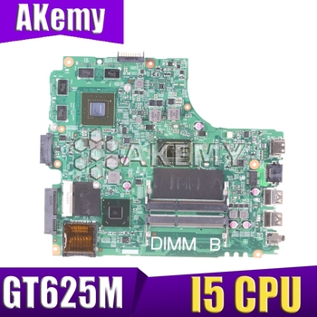 12204-1 Laptop motherboard for DELL INSPIRON 3421 2421 5421 Test original mainboard I5 CPU GT625M Graphics card 8 memory