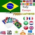 América do Sul Iptv Latino Com Iptv Brasil 1 Ano de Subscrição Grátis 7000 brasil chile Portugal Europa Chs mais vendido para o brasil