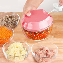 Kitchen Manual Meat Grinder Garlic Cutter Slicer Fruit Shredder Ginger Chopper for Household Kitchen Easy Supplies(China)