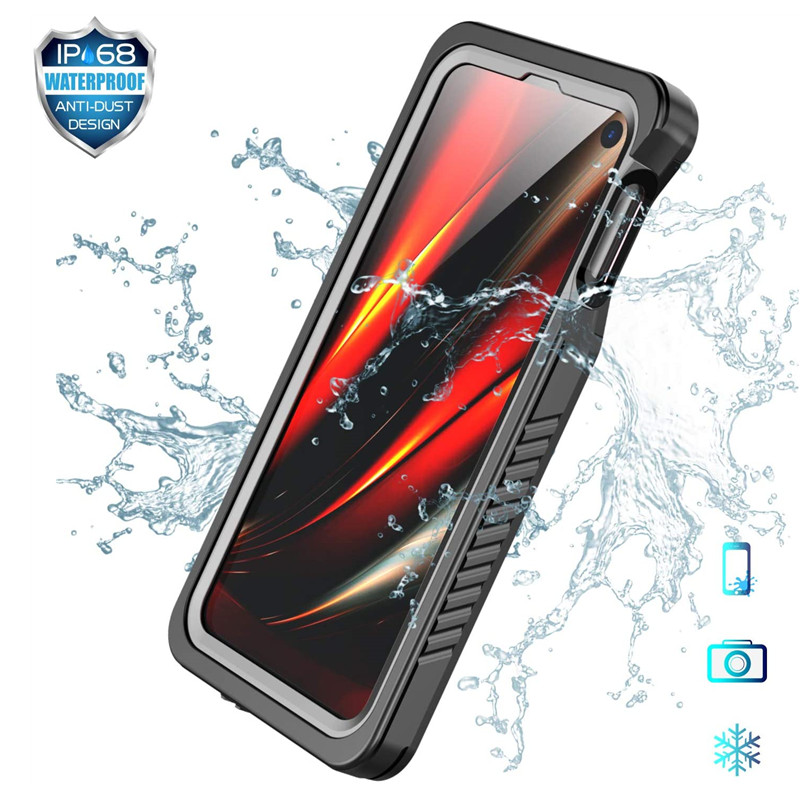 Waterproof Phone Case for Galaxy S21 S20 S10 S9 Plus S10e 360 Protective Shockproof Cover for Samsung Note 20 10 9 Ultra Coque
