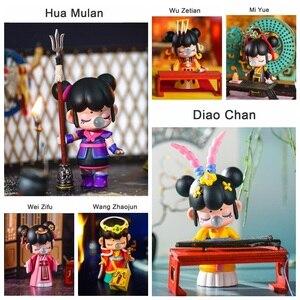 Image 2 - Robotime caja ciega East Asia Palace Action Unboxing Toys figura modelo muñecas exótico regalo especial para niños, niños, adultos