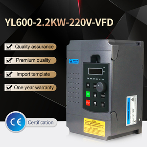 Image 2 - 2.2KW 220V VFD Single Phase input 220v and 3 Phase Output  220V Frequency Converter/Adjustable Speed Drive/Frequency Inverter