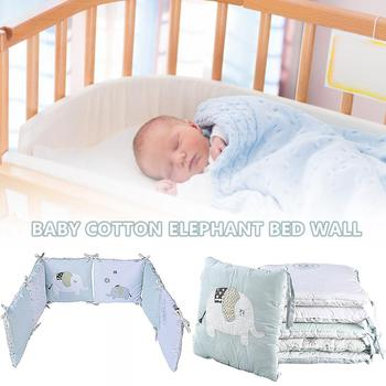 Baby Crib Bumpers Breathable 3D Crib Bumpers For Toddlers Newborns Cotton Crib Perimeter