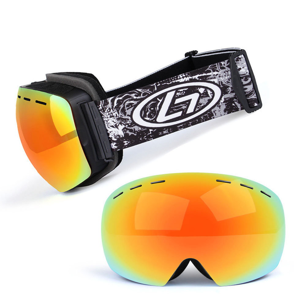 Ski Snowboard Goggles Photochromic AMen Women Skiing Glasses UV Protection For Snowmobile All Weather Snow Goggles