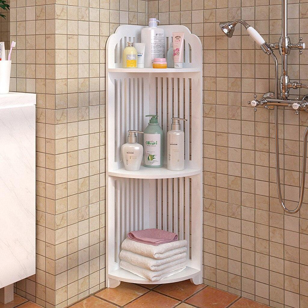 3 Tier Shelving Unit Bathroom Corner
