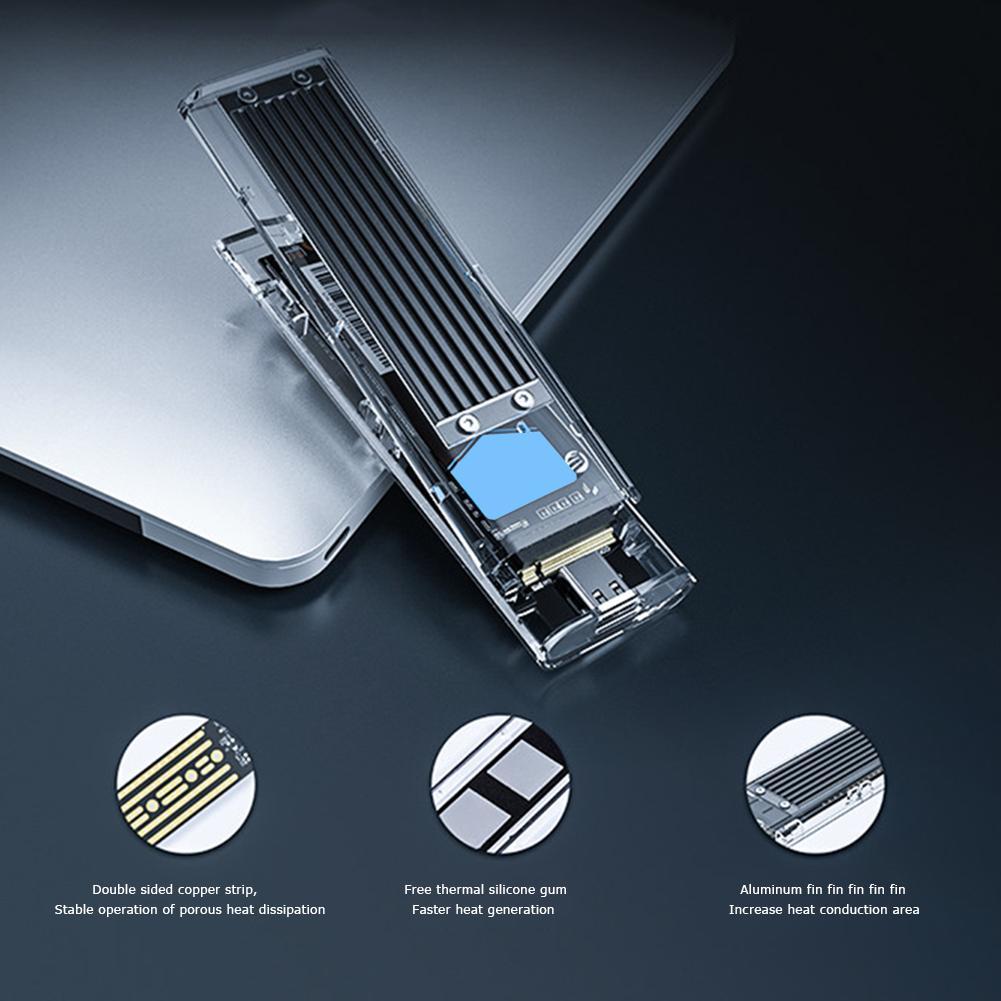 Disco Rígido USB 3.1 para M.2 Caixa