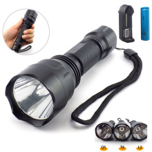 super T6 L2 LED Flashlight flash Torch light 2000lm linterna