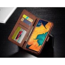Leather card flip cover for Samsung A70 A60 A50 A40 A30 A20 case Coque Galaxy