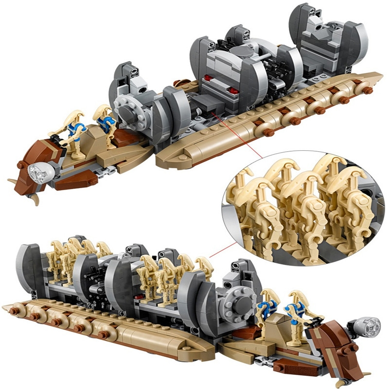 NEW Star Wars Battle Droid Troop Carrier Building Blocks Toys For Kids Boys Gifts Children StarWars Figure With 75086