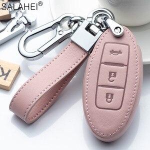 Image 2 - Auto Schlüssel Abdeckung Schutz Fall Für Nissan Qashqai J10 J11 X Trail t31 t32 kicks Tiida Pathfinder Murano Hinweis juke 370Z Cube Micra