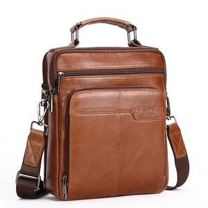 MEIGARDASS torba z prawdziwej skóry mężczyźni torba podróżna torby Crossbody dla mężczyzn biznes iPad torebki męskie skrzynki torebka