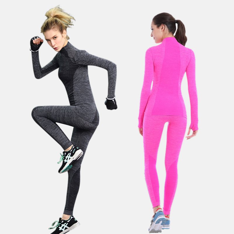Quick-drying Stretch Thermal Underwear Women For Women's Winter Long Johns Female Underwear Suit Thick Breathable Warm Clothing